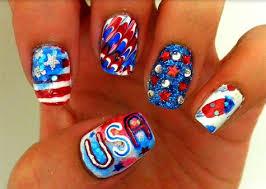 memorial day 2013 nail art patriotic designs manicures