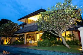 a five bedroom house with a pool in kuala lumpur in the gated