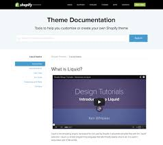 getting started with liquid shopify u0027s template language