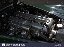 jaguar xk120 engine stock photo royalty free image 2421884 alamy