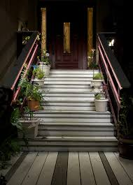 exterior railing lighting