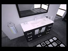 Zola Bathroom Furniture Virtu Usa Ms 6748 Zola Single Sink Vanity Set Modern Mp4