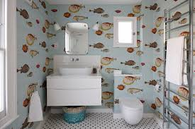 london removable wallpaper bathroom eclectic with kids paper
