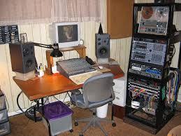 Studio Desk Rack by Regis Coyne U0027s Recording Studio