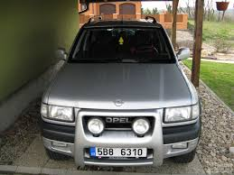 opel frontera 2002 opel frontera dti best photos and information of modification