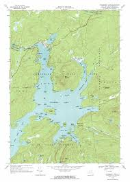 Lake Placid Florida Map by Cranberry Lake Topographic Map Ny Usgs Topo Quad 44074b7