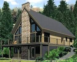 a frame house designs luxury lake home plans lakefront home plans with walkout basement