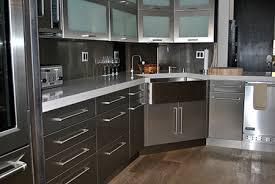 Metal Cabinets For Kitchen Steel Kitchen Cabinets Hbe Intended For Metal Cabinet Doors