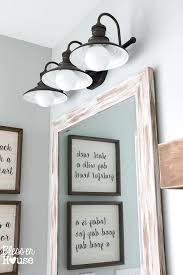 farmhouse bathroom lighting ideas farmhouse vanity lights vanity lights under 100 interesting