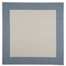 Square Outdoor Rug Gray Square Outdoor Rugs The Home Depot Pertaining To Rug Decor 15