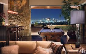 home design game videos jennifer aniston home the game room with its bar and vintage