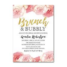 birthday brunch invitation editable pdf bridal shower invitation diy brunch and bubbly gold
