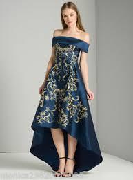 hem wedding dress chi chi embroidered bardot dip hem maxi wedding dress uk 8