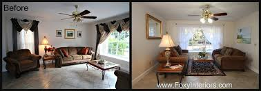 Staging Before And After by Before And After 1132 Glenmore Apopka 32712 U2013 Foxy Interiors