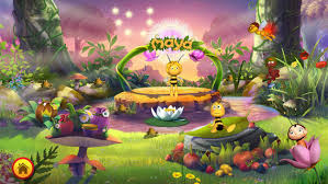 play maya bee flower party iphone apps