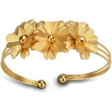 aarya 24 karat gold foil kada bracelets homeshop18