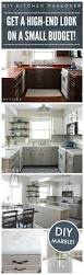 diy kitchen makeover ideas kitchen giy goth it yourself kitchen makeover faux granite counter