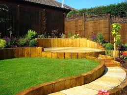 Small Sloped Garden Design Ideas Sloping Gardens Terracing A Sloping Garden Photo Small