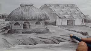 pencil for painting how to draw a house shading with pencil
