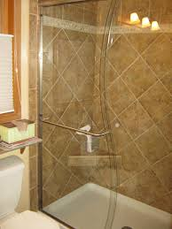 glass shower door for tub cardinal craftsman s shaped semi frameless tub and shower door