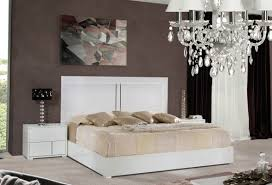 Italian Contemporary Bedroom Sets - modrest nicla italian modern white bedroom set