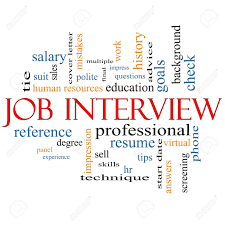 Job Interview Resume Questions by Job Interview Word Cloud Concept With Great Terms Such As Suit