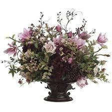 Artificial Flower Decorations For Home Silk Flower Arrangements Hydrangea Rose Magnolia Berry Arwf3911