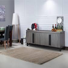 Buffet Furniture Modern by Furniture Of America Sonova Modern 70 Inch Buffet Cabinet Free