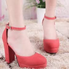 Closed Toe Sandals With Heel 2015 Fashion Women U0027s Thick High Heels Shoes Platform Closed