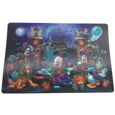 your wdw store disney placemat halloween mickey mouse and