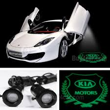 kia logo car logo led ghost shadow welcome projector light laser for kia