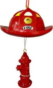 Firefighter Christmas Tree Decorations by Hand Painted Firefighter Light Bulb Ornament Christmas Tree