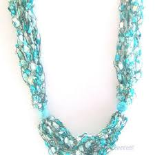 ladder ribbon best crochet ladder necklace jewelry products on wanelo