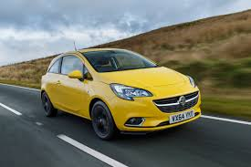 vauxhall yellow vauxhall corsa 1 4 sri 3 door review auto express