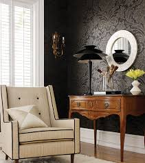 wallpaper for home interiors budget interior decorations wallpaper vs paint interiorholic