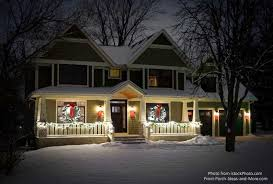 House And Home Christmas Decorating by Outdoor Christmas Decorations Bring Holiday Joy