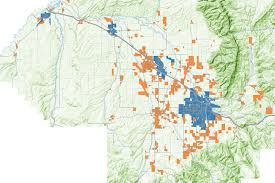 Montana Map Cities by Six Maps Looking At Development In The Gallatin Valley City Beat