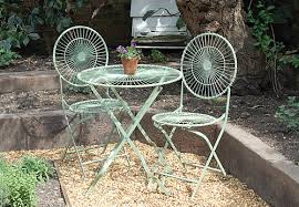 Metal Folding Bistro Chairs Vintage Bistro Table And Chairs Amazing Of White Bistro Table