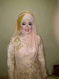 tutorial hijab syar i untuk pengantin my 1st blog syar i wedding dress and hijab
