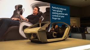 nissan zero gravity seats adient u0027s u0027zero gravity u0027 auto seats youtube