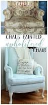 Easy Upholstery Painted Upholstered Chair Makeover Chalk Paint Artsy Rule
