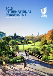 unitec 2016 international prospectus by unitecinternational issuu