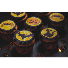 halloween sheet cake halloween edible 12 pack cake toppers unique home living