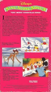 disney u0027s sing songs merry christmas songs