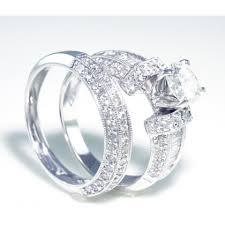 wedding ring and engagement ring 2 86 carat wedding ring set engagement ring