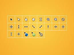 cursor symbols sketch freebie download free resource for sketch