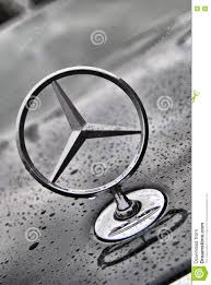 mercedes benz closeup logo editorial photo image 81996881