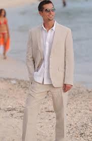 groom mens short suit for summer or destination weddings groom