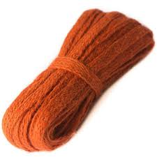 jute ribbon jute ribbon orange