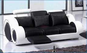 canapé cuir noir 3 places élégant canapé cuir noir 3 places stock de canapé design 16961